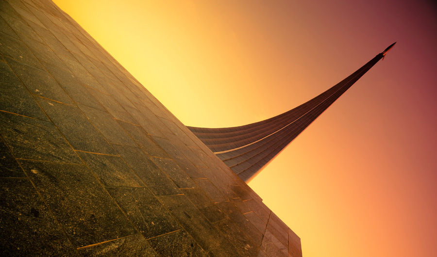 Solardach Moskau – Standort Музей Космонавтики Лого